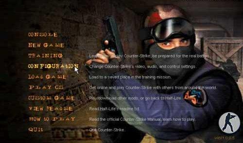 Прошлая, но далеко не забытая версия Counter Strike 1.5
