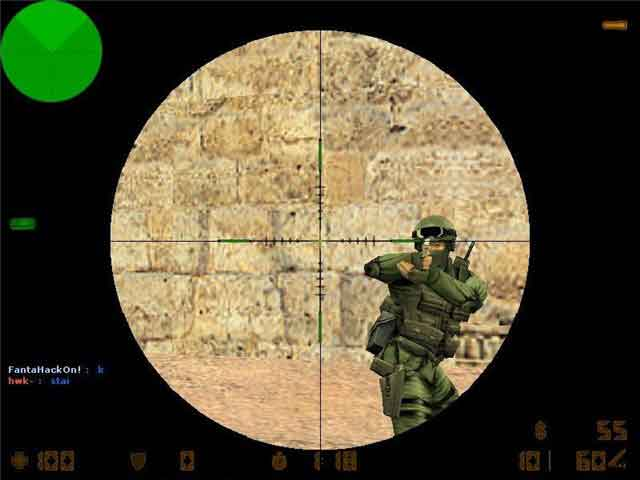 Green Scope прицел